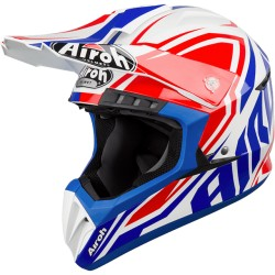 Casco AIROH SWITCH IMPACT BLUE