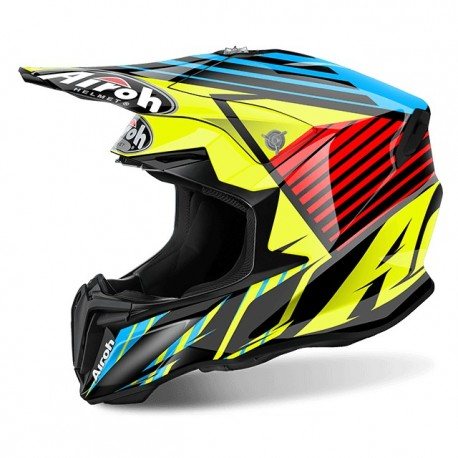 Casco AIROH TWIST STRANGE BLUE